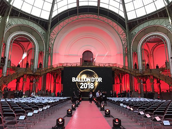 63e Ballon d'Or au Grand Palais