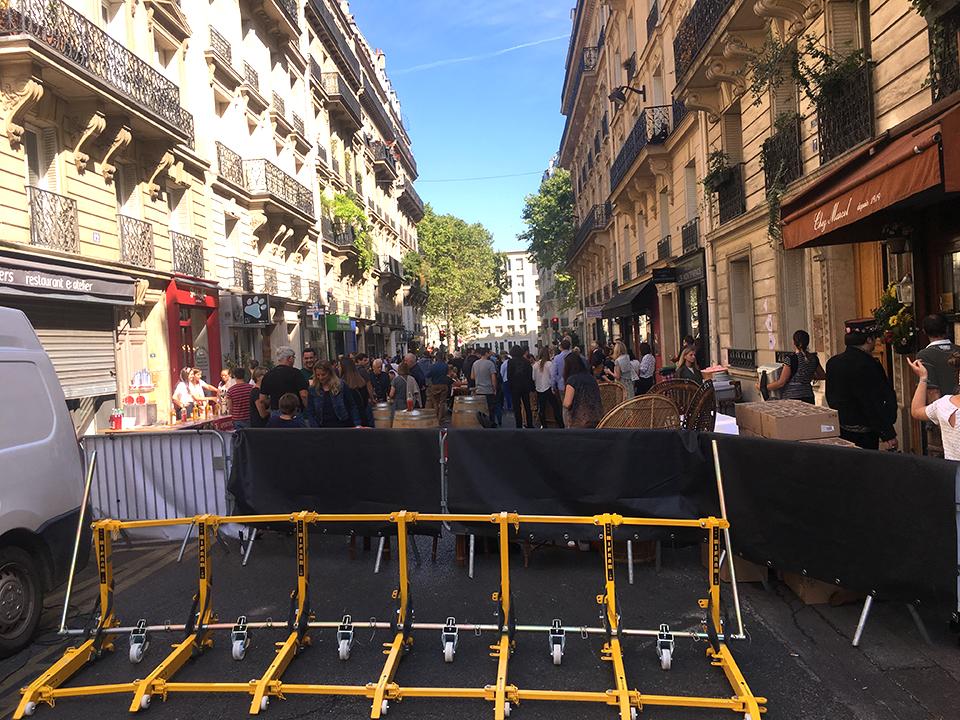 barrières anti-intrusion securisent un evenement