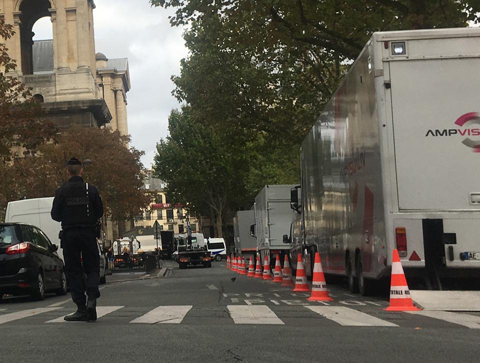 Totale Régie pour les funérailles de Jacques Chirac à l'église Sainte Sulpice