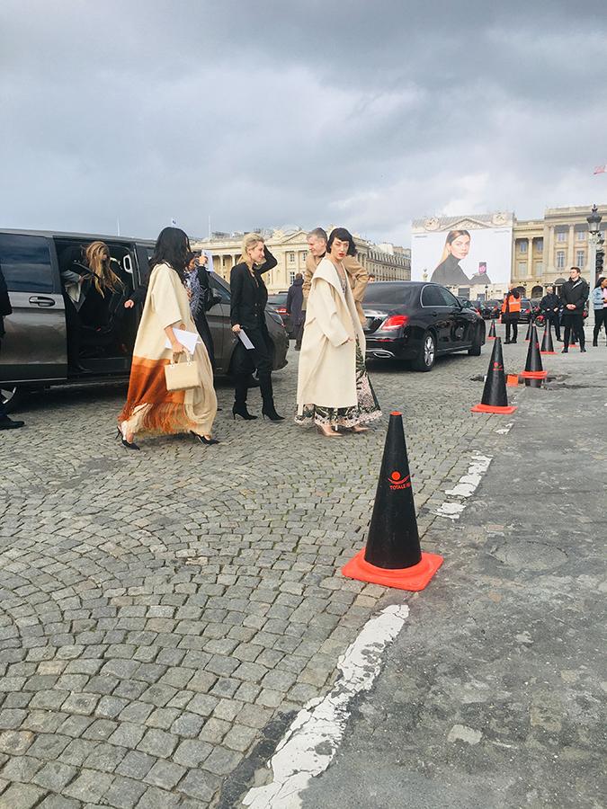 gestion de flux par Totale régie _defilé Dior