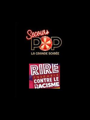 SECOURS POP'ROCK et RIRE ENSEMBLE CONTRE LE RACISME au Cirque d'Hiver